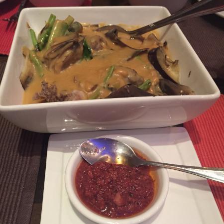 Asian Traditional Restaurant Doha : Kare-kare with bagoong
