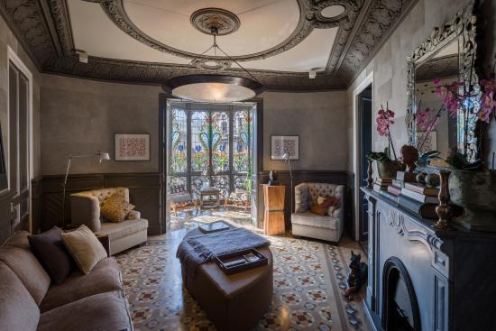 Suite A Bcn: Sala de estar