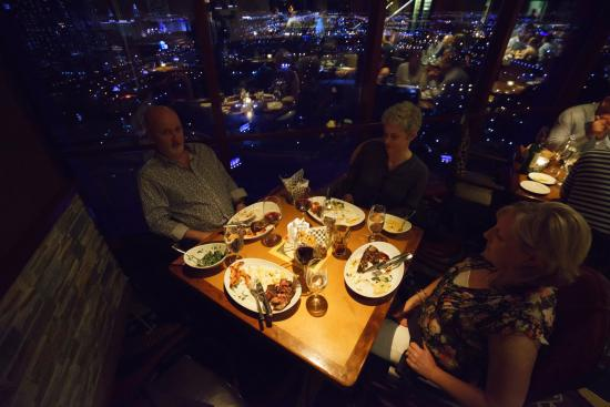 A table with a view - Picture of Voodoo Steakhouse, Las