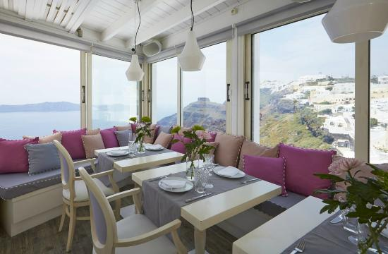 Mill Houses Elegant Suites: Restaurant (Mylos Bar Restaurant)