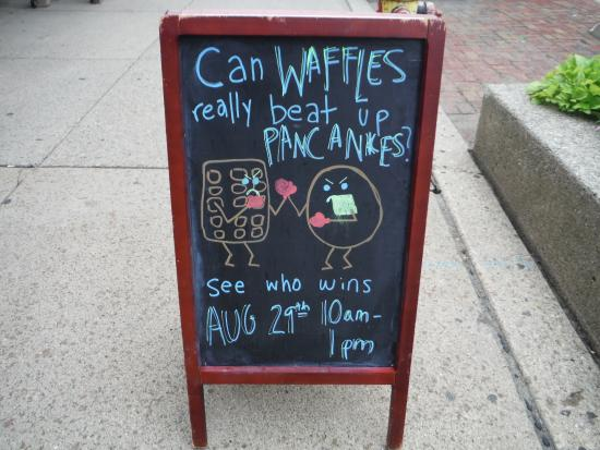 Kerrytown: Waffle has a mean left hook!