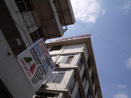 Moshi Leopard Hotel: ホテル外観