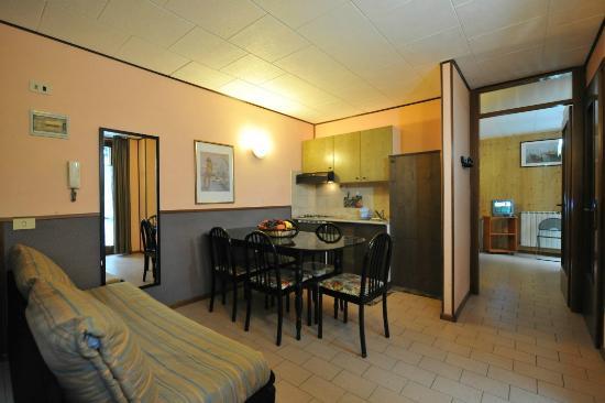 Antey Saint Andre, Ιταλία: Bilocale 5 posti letto