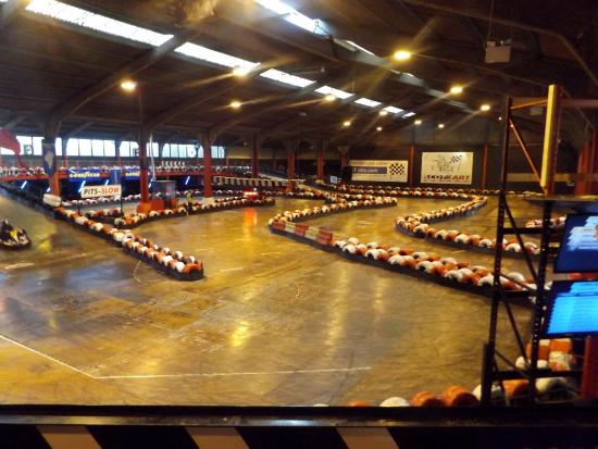 ‪ScotKart Indoor Go Karting and Laser Tag Glasgow Cambuslang‬