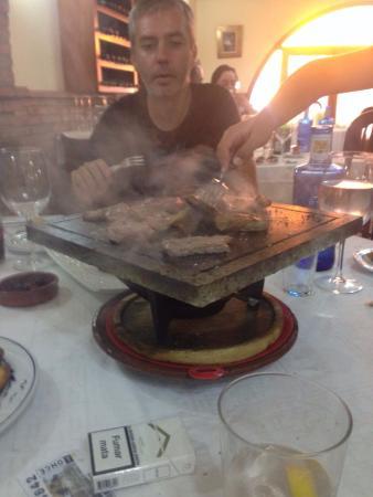 Bodega Claudio : Parrillada carne excelente y tierna.