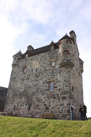 Glenisla, UK: Looking up at the imposing view