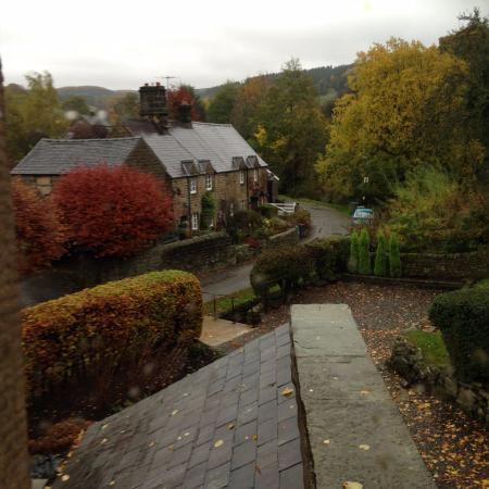 Beeley, UK: our view from our bedroom window