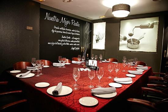 Restaurante María: Comedor Privado