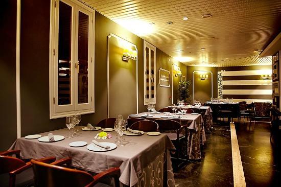 Restaurante María: Comedor