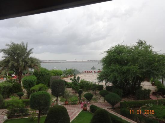 Le Relais: La vue de mon balcon