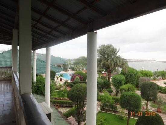 Le Relais: Vu de mon balcon