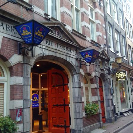 Picture of best western dam square inn for Hotel amsterdam economici piazza dam