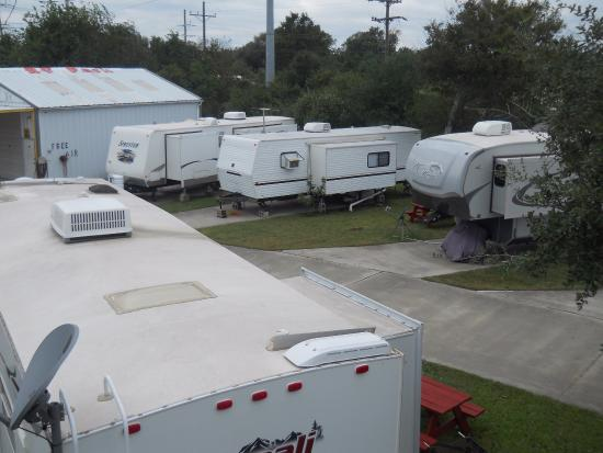 High Island, TX: campers 1