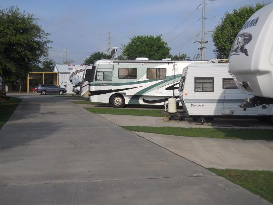 High Island, TX: campers 3