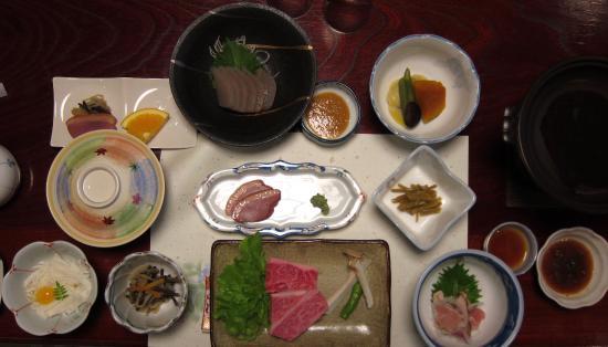 Kazuraya : 夕食です