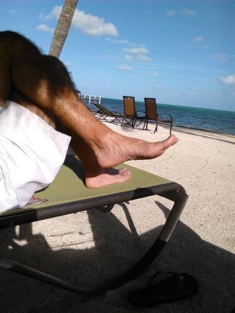 """Matecumbe Resort: Relaxing on the """"beach"""""""
