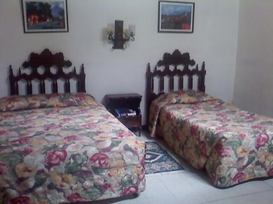 Hotel Ajau Colonial: HABITACION DOBLE