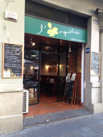 L'Orquídia cafeteria - restaurant