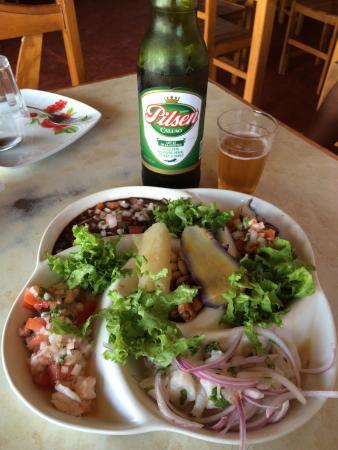 Las Gemelitas: Ceviche totalmente recomendable!!!