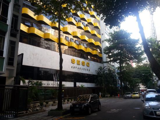 Hotel Sesc Copacabana-Fachada