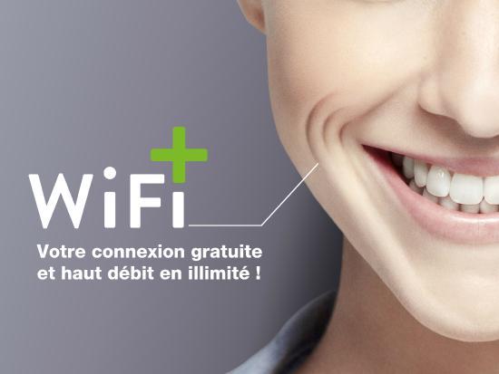 Maxeville, ฝรั่งเศส: Wifi Haut débit Gratuit et illimité