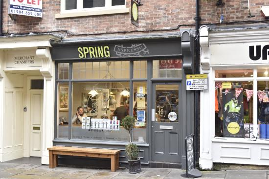 Visit this cafe.. - Picture of Spring Espresso, York - Tripadvisor