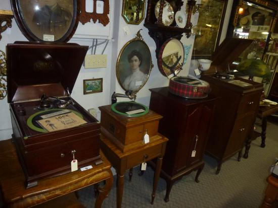 Barrie Antiques Centre: Early Record Players