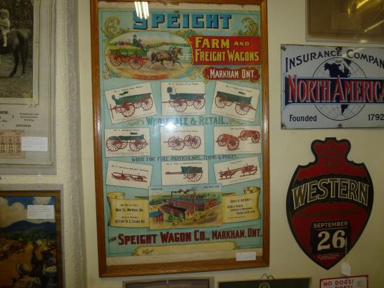 Barrie, Canada: Ad For Farm Wagons