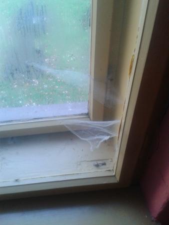 Bruntal, Tsjekkia: Chodba - výhled z okna