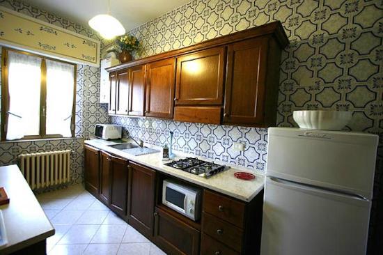 I Nidi di Cortona: Appartamento Capinera cucina