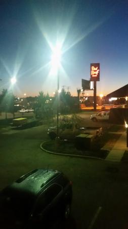 Red Roof Inn   Canton: Morning View