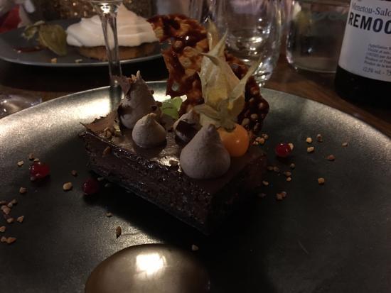 """Gourmandises : Le somptueux dessert """"Tous Chocolats"""""""