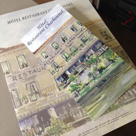 Hotel Restaurant Charbonnel: Broschüre des Hotels