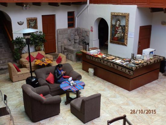 Hospedaje Turistico San Blas: zona comedor muy bonito