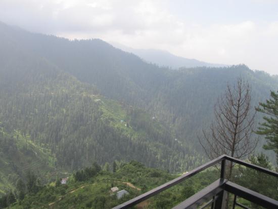 Tethys Ski Resort Narkanda : view from the hotel
