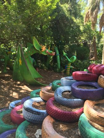 Children Garden Tires Picture of The Childrens Garden Sarasota