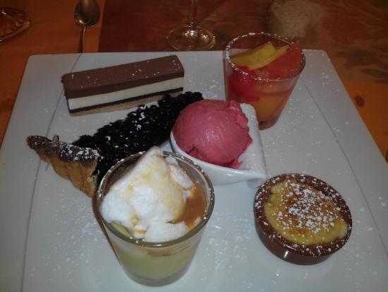 Hôtel Restaurant Le Chalet : dessert