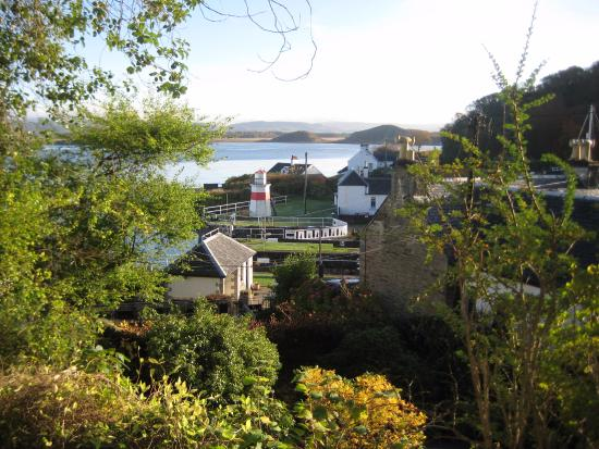 Crinan, UK: view from the hotels garden