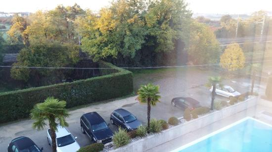View From The Room Picture Of Best Western Hotel Antico Termine