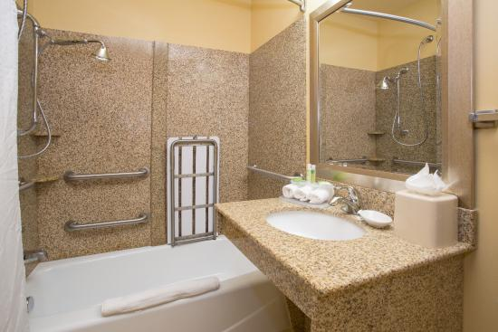 ADA Bathroom With Accessible Tub - Picture of Holiday Inn Express ...