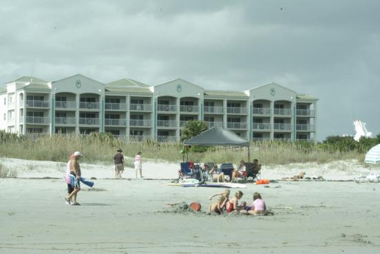 Holiday Inn Club Vacations Cape Canaveral Beach Resort From The Looking Back At