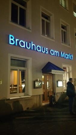 wirklich empfehlenswert picture of brauhaus am markt schweinfurt tripadvisor. Black Bedroom Furniture Sets. Home Design Ideas