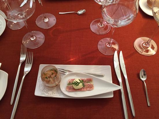 Hotel Restaurant Les Alpes : amuse-bouche