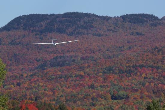 Warren, VT: Landing after a scenic ride