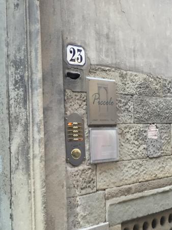 Piccolo Residence Apart-Hotel: ホテル入り口目印