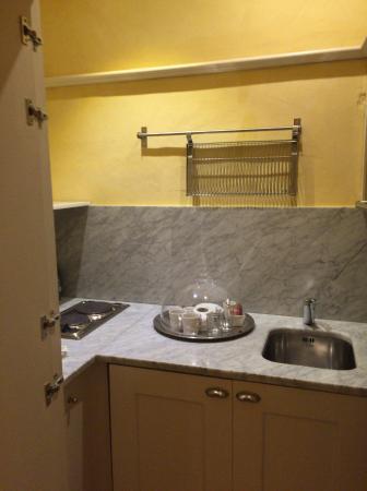 Piccolo Residence Apart-Hotel: キッチンあり