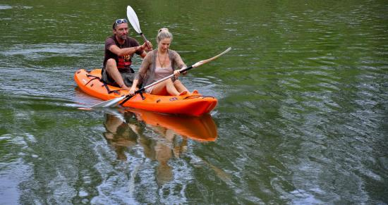 Umlambo B&B and River Camp: Canoeing on the Sundays River at Umlambo