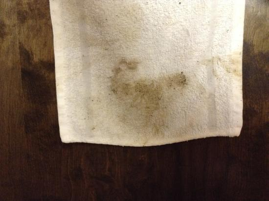 Danville, Pensylwania: Wiped this off the bathtub walls
