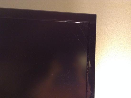 Danville, Pensylwania: Cobwebs on the tv