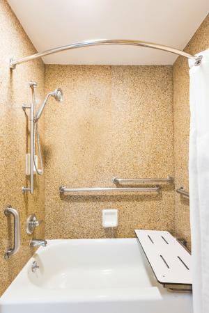 Our accessible guest rooms feature accessible bathtubs. - Picture of ...